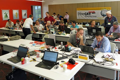 A look into the future at the 2014 North American EtherCAT Plug Fest