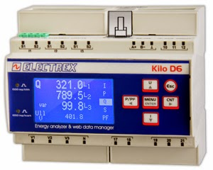 New Kilo Net D6 Q from Electrex - Akse - Power Quality Energy Analyzer & Wi-Fi Web Data Manager