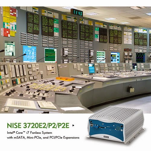NEXCOM's NISE 3720 Fanless Computer Bridges Business Decisions and Factory Operations with Industrial IoT