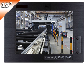 "DFI launches 19"" Heavy Industrial Touch Panel PC with IP65 Compliant Front Panel"