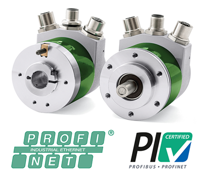 Lika Electronic encoders are Profinet-certified