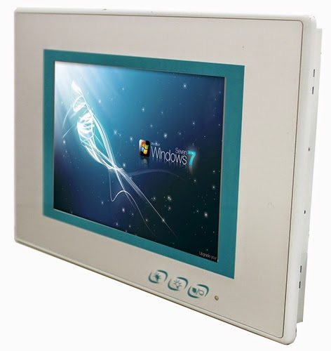 ARBOR's New LYNC-708 Touch Panel PC for Smart Building Management