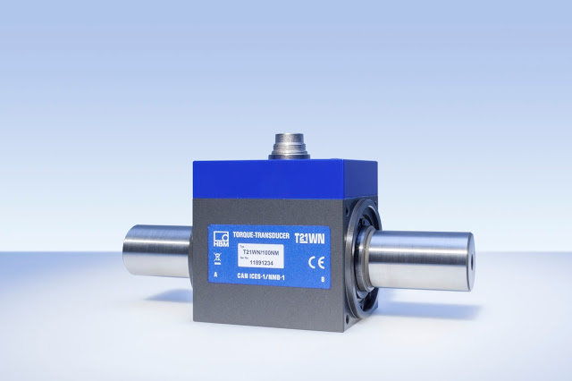 New T21WN Torque Transducer from HBM