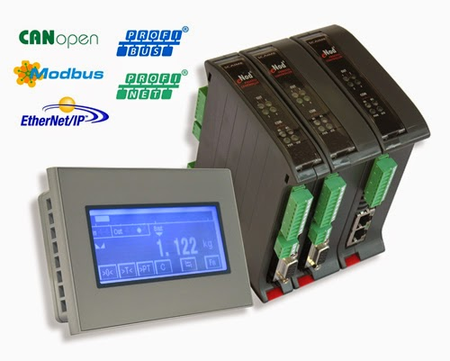 Scaime's eNod4-T ETH: Weighing Transmitter with Fieldbus and industrial Ethernet communication