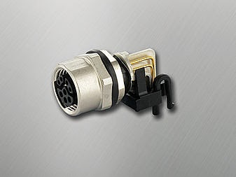 Murrelektronik's New Industrial M12 Connectors with IP67 Protection