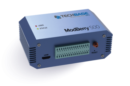 TECHBASE Group's ModBerry - World's first Industrial Computer based on new Raspberry Pi Compute Module