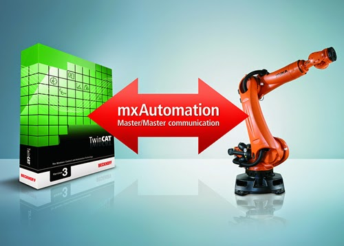 Beckhoff TwinCAT 3.1 now supports the mxAutomation interface to KUKA