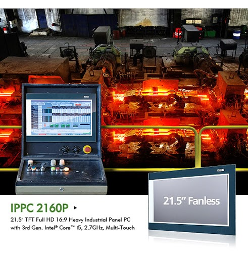 "NEXCOM's New 21"" Multi-touch Industrial Panel PC Gives HMI/SCADA A Performance Boost"