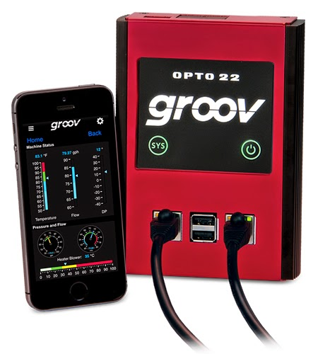 Opto 22's New groov Box Offers Mobile Access Anywhere
