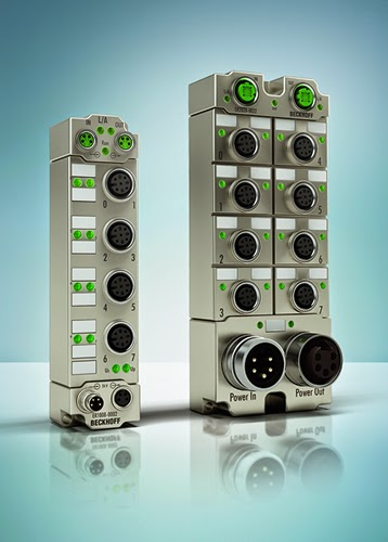 Beckhoff' New Compact I/O Modules in die-cast zinc housings