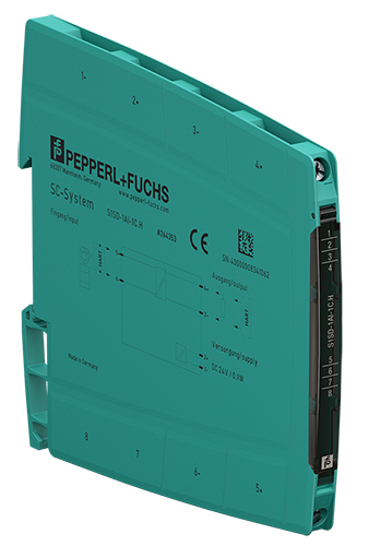 Pepperl+Fuchs' SC-System: New Signal Conditioner Line for Non-Hazardous Areas