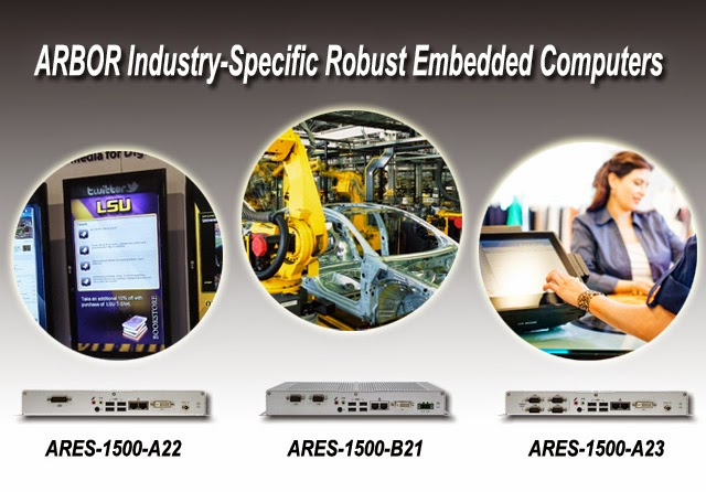 ARBOR Launches Industry-Specific Robust Embedded Computers with AMD G-T40N Platform