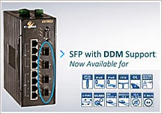 EtherWAN PoE Switches now with DDM support