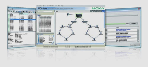 Moxa Introduces All-in-One Toolbox MXstudio for Network Management