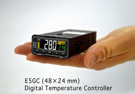 OMRON Releases New Temperature Controller E5GC