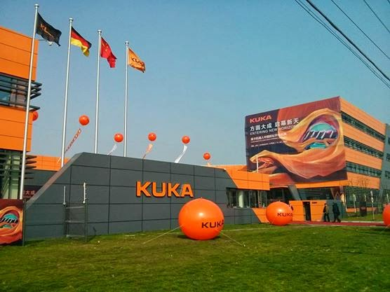 KUKA inaugurates new robot production facility in Asia