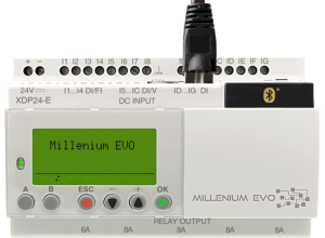 Millenium EVO – The communicating logic controller for all your small-scale automation projects