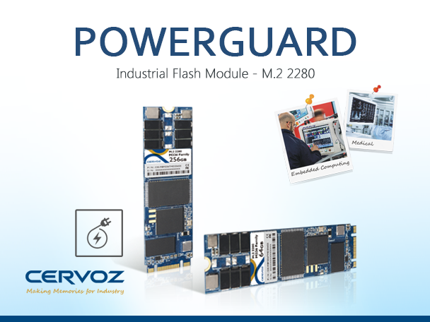 Cervoz Powerguard M.2 2280 - The Latest Solution to Protect Data Against Sudden Power Loss