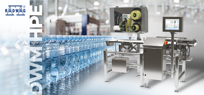 DWM HPE Labelling Checkweigher – Complex Solution for Industry