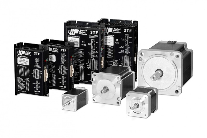 New microstepping drive range with multiple communication options