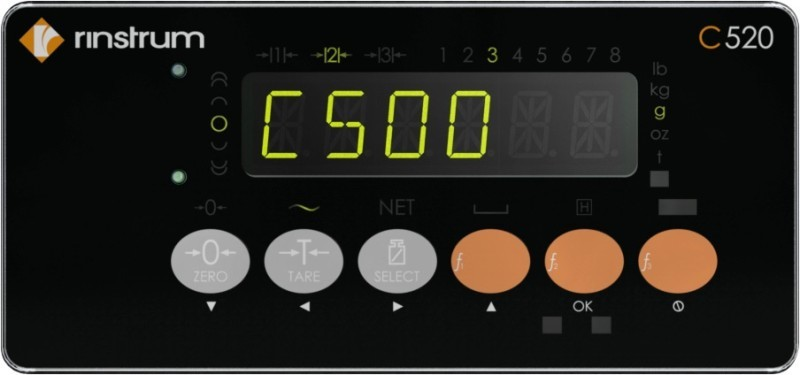 Rinstrum implements EtherNet/IP on its Indicators, starting with C500 series
