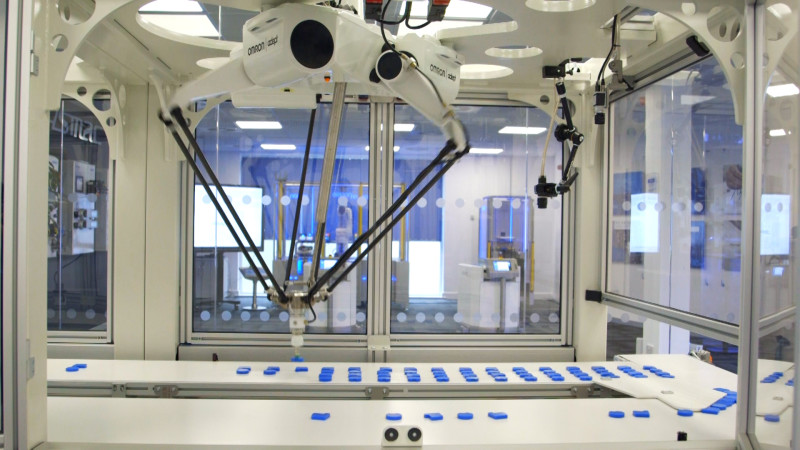 New Innovation Lab from Omron Proactively Demonstrates the Benefits of Robots in Manufacturing