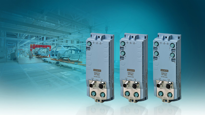 New device series from Siemens paves the way for high frequency RFID cloud connection