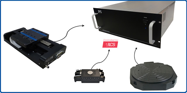 PI's Multi-Axis Precision Motion Controller: 4-6-8 Channels, for Air Bearing Motion Systems