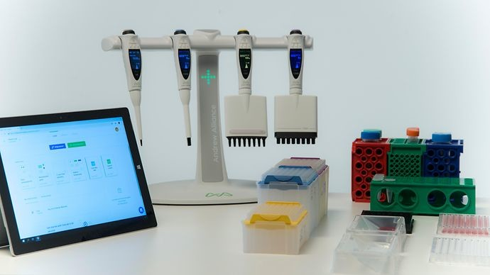 Andrew Alliance and Sartorius Collaborate to Provide Software-Connected Pipettes for Life Science Research