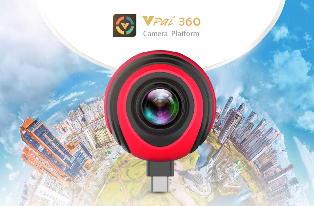 VIA Announces VPai Clip2 Pro Turnkey Solution for 4K Ultra HD 360-Degree Cameras