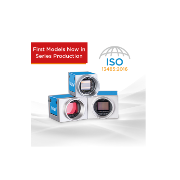 In Series Production: Basler MED ace Camera Compliant with DIN EN ISO 13485:2016
