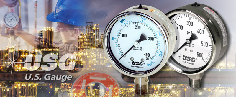 Maximize your Chemical Production with Liquid Filled Pressure Gauges