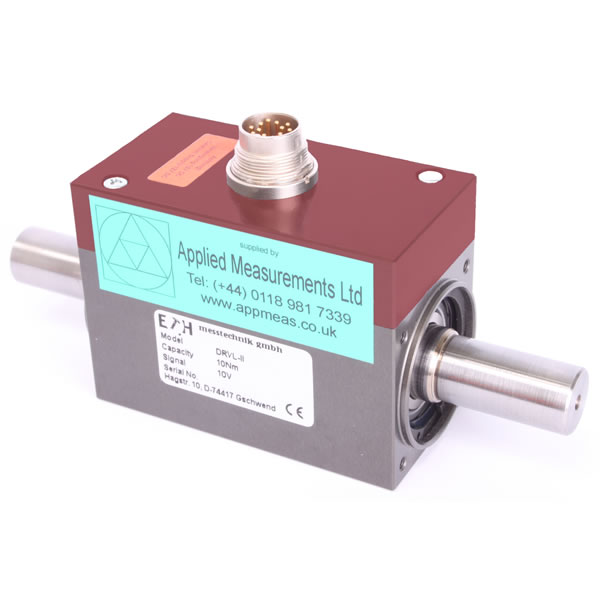 New DRVL Rotary Torque Transducer from Applied Measurements promises Enhanced Compatibility