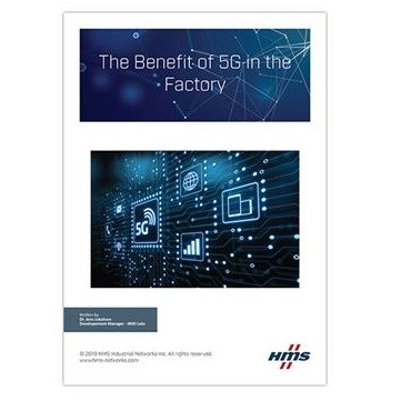 New White Paper from HMS Networks explores the benefits of 5G for Manufacturing and Industrial Automation