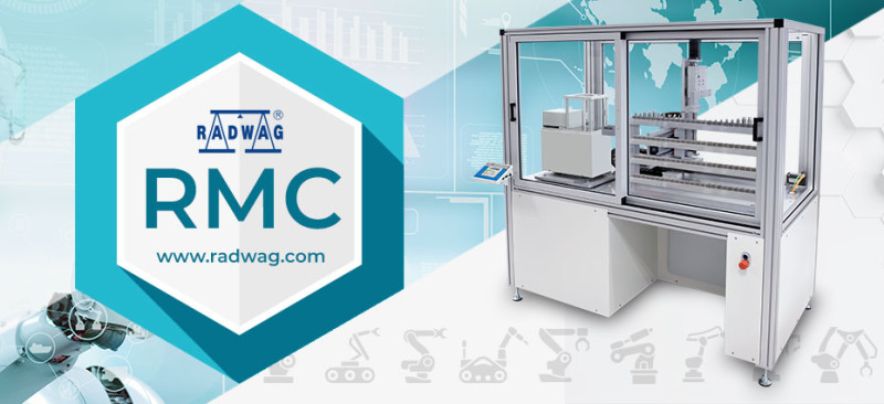 RADWAG RMC Robotic Mass Comparator