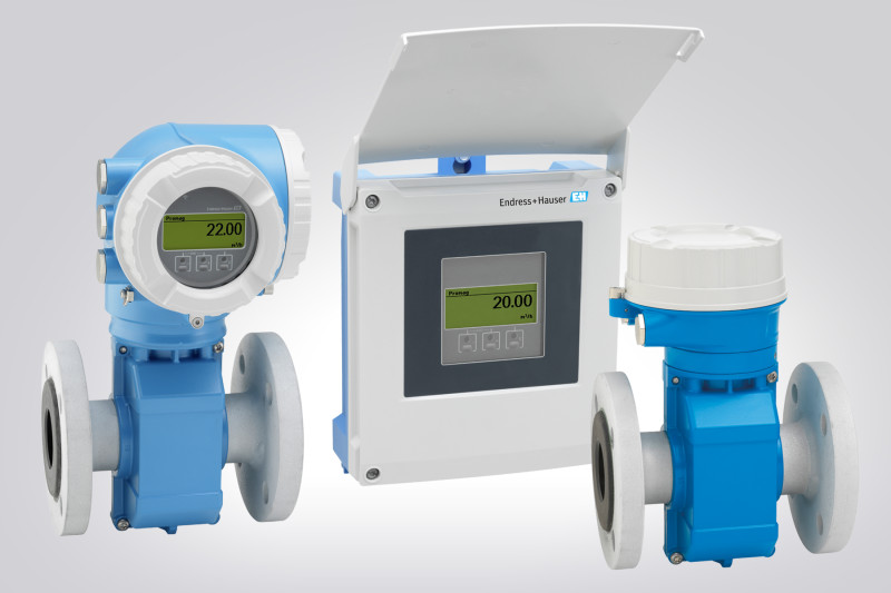 Endress+Hauser introduces Proline Promag W 300/500