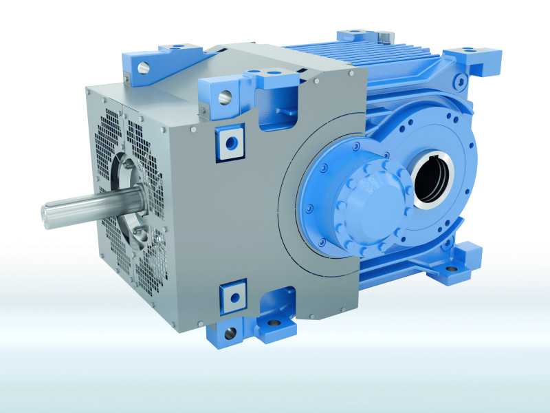 New MAXXDRIVE® XT Industrial gear unit from NORD for conveyor belt systems