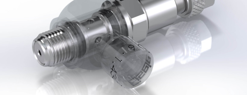 Consistent pressure with one turn - New robust stainless steel Pressure Regulator