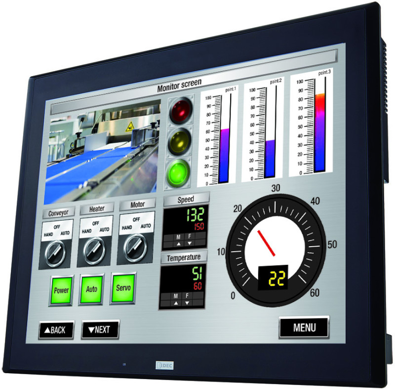 "IDEC Expands HMI Family with New 15"" Model"