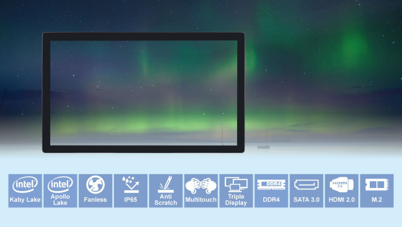 Quanmax Frameless Widescreen Panel PC Delivers Uninterrupted Visual Enjoyment