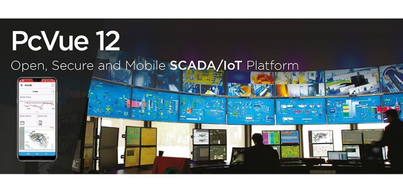 PcVue 12: The Open, Secure and Mobile SCADA/IoT Platform