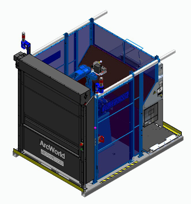 Yaskawa Motoman Launches Updates to ArcWorld 50 Series Workcells for Robotic Welding