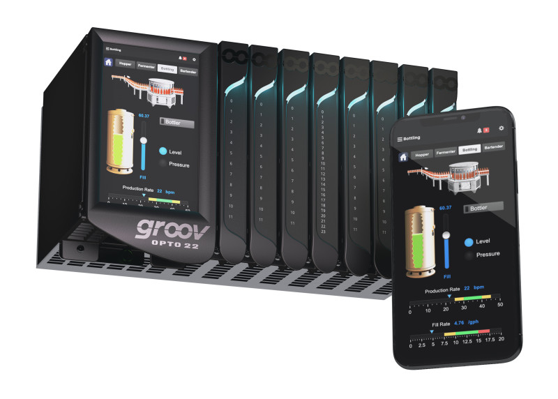 Opto 22's groov EPIC Firmware Update Enhances Secure Remote Access with VPN, adds Inductive Automation Ignition Options