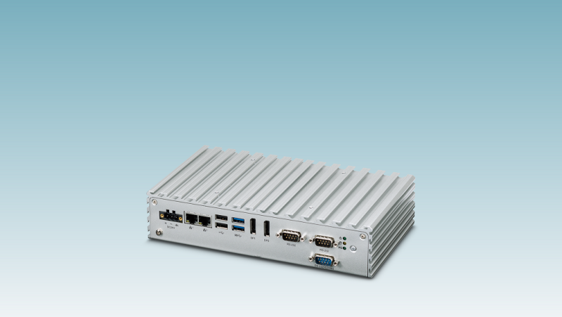 Phoenix Contact's Box and panel PCs for basic applications