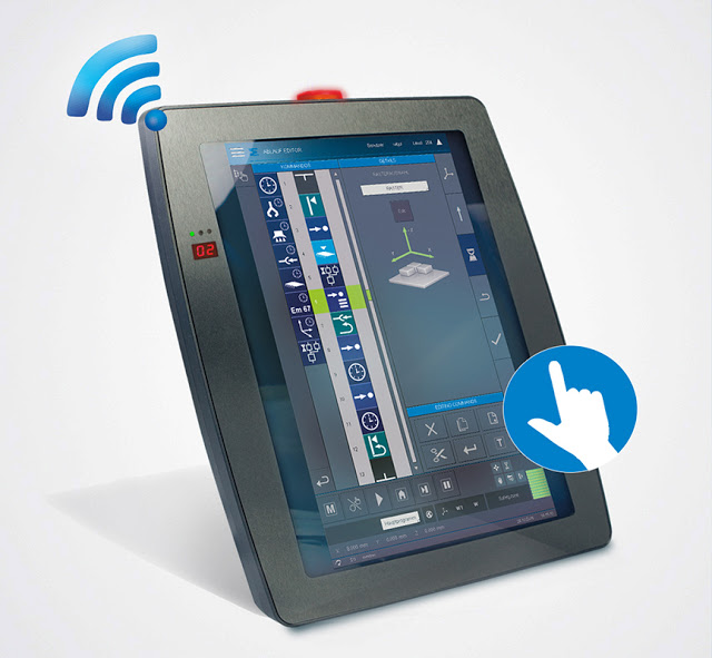 Wireless, Multi-touch & Safety Functions: The Sigmatek HGW 1033
