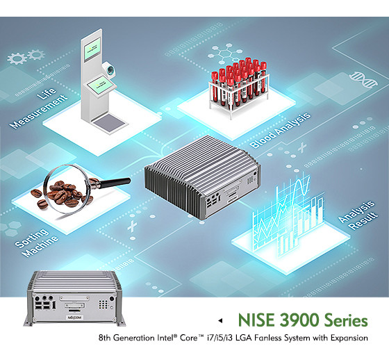 Keep Up With the Increasing Demand for Edge Computing and IoT Applications with the NEXCOM NISE 3900 Fanless Computer