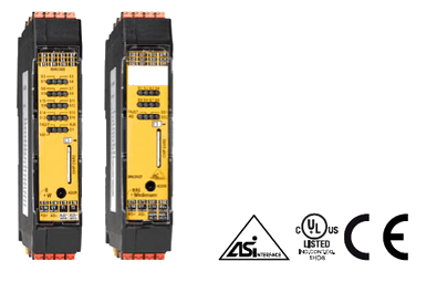 Bihl+Wiedemann's New AS-i Safety I/O Module - universal use for many different applications