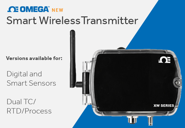 OMEGA Introduces XW Series Smart Transmitter Family