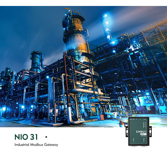 NEXCOM NIO 31 - The Gateway to Both Serial and Modbus Data Support