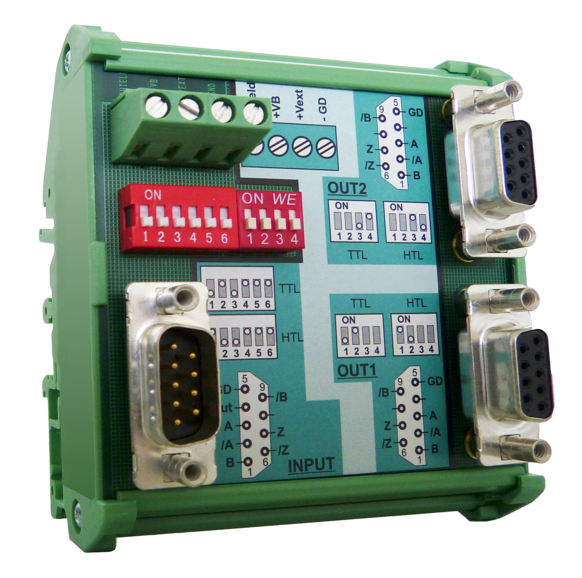Lika Electronic IF09, Impulse Splitter and Converter for Incremental Encoders